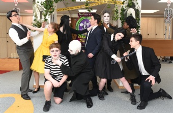 The Addams Family TY musical photos