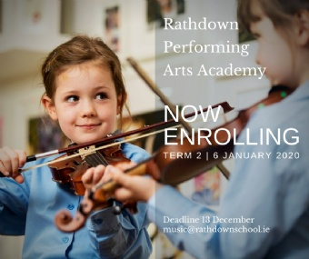 Rathdown Performing Arts Academy is now taking enrollments for Term 2