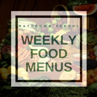 Menus for the week of the 24th February 2020